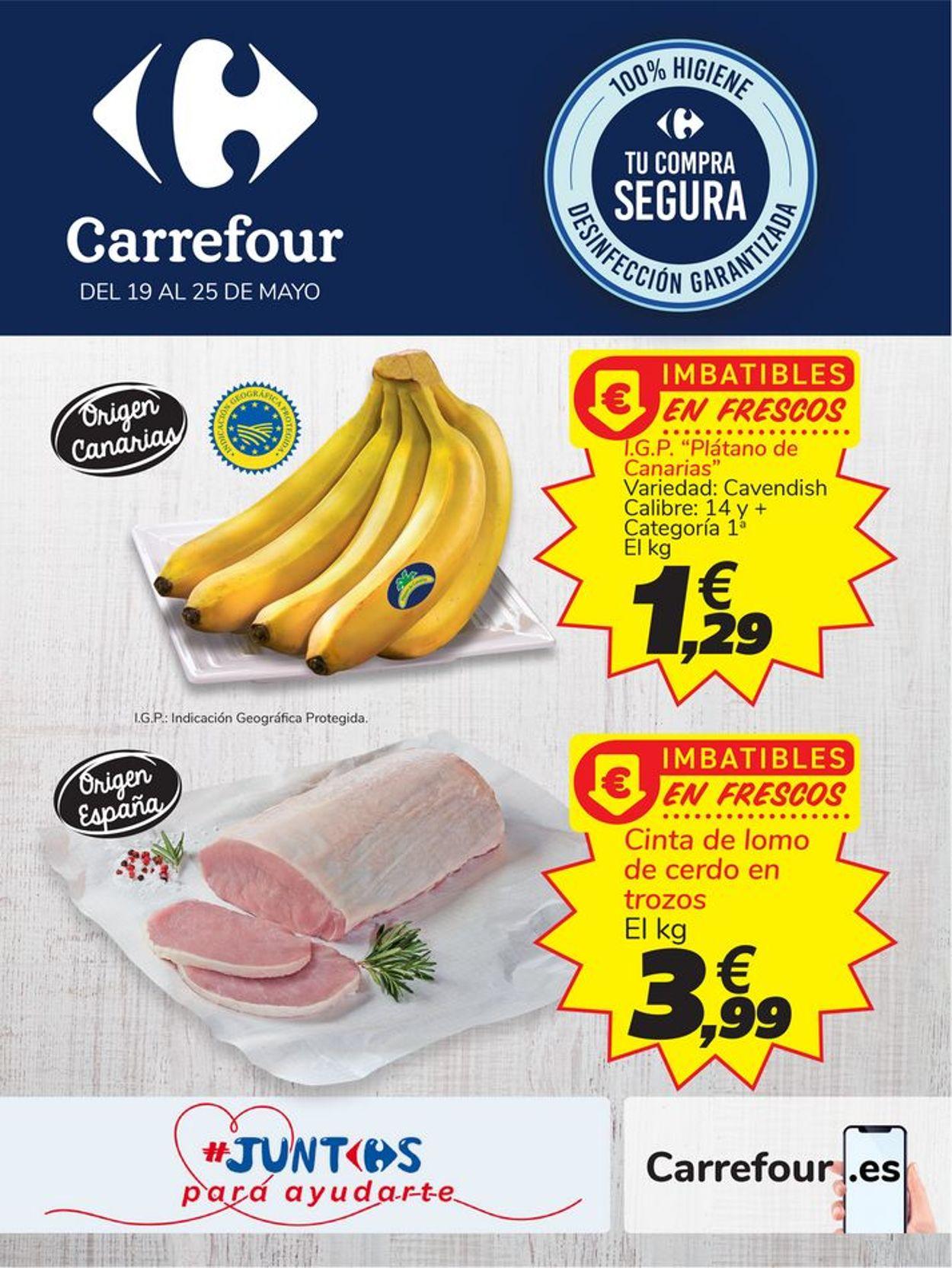 Carrefour Folleto - 19.05-25.05.2020