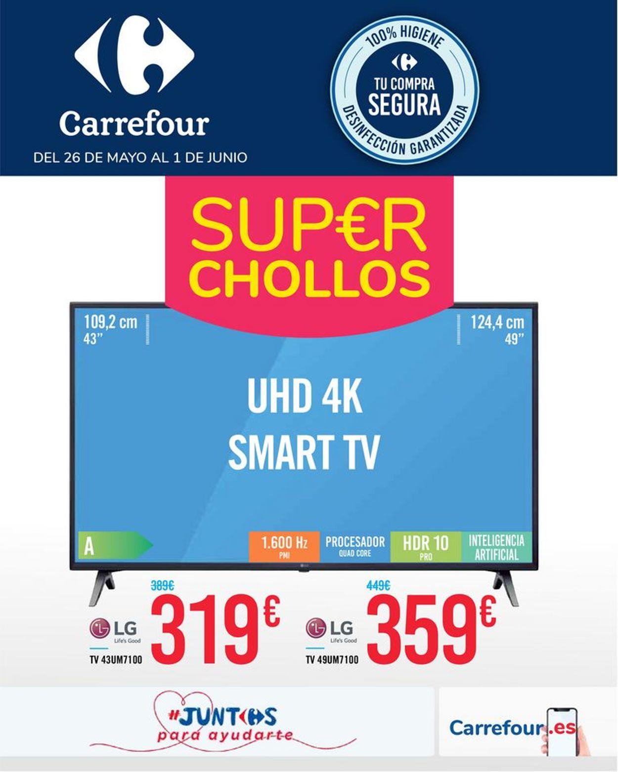 Carrefour Folleto - 26.05-01.06.2020