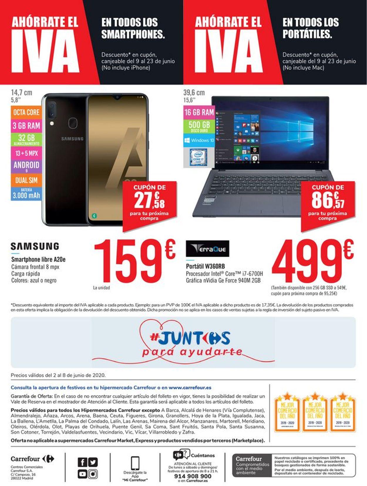Carrefour Folleto - 02.06-08.06.2020 (Página 20)