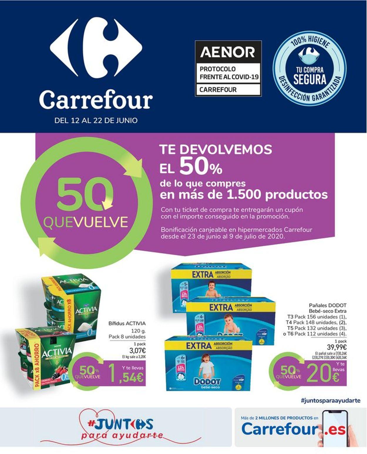 Carrefour Folleto - 12.06-22.06.2020