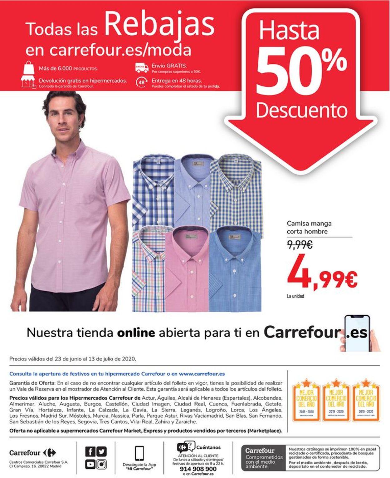 Carrefour Folleto - 23.06-13.07.2020 (Página 80)