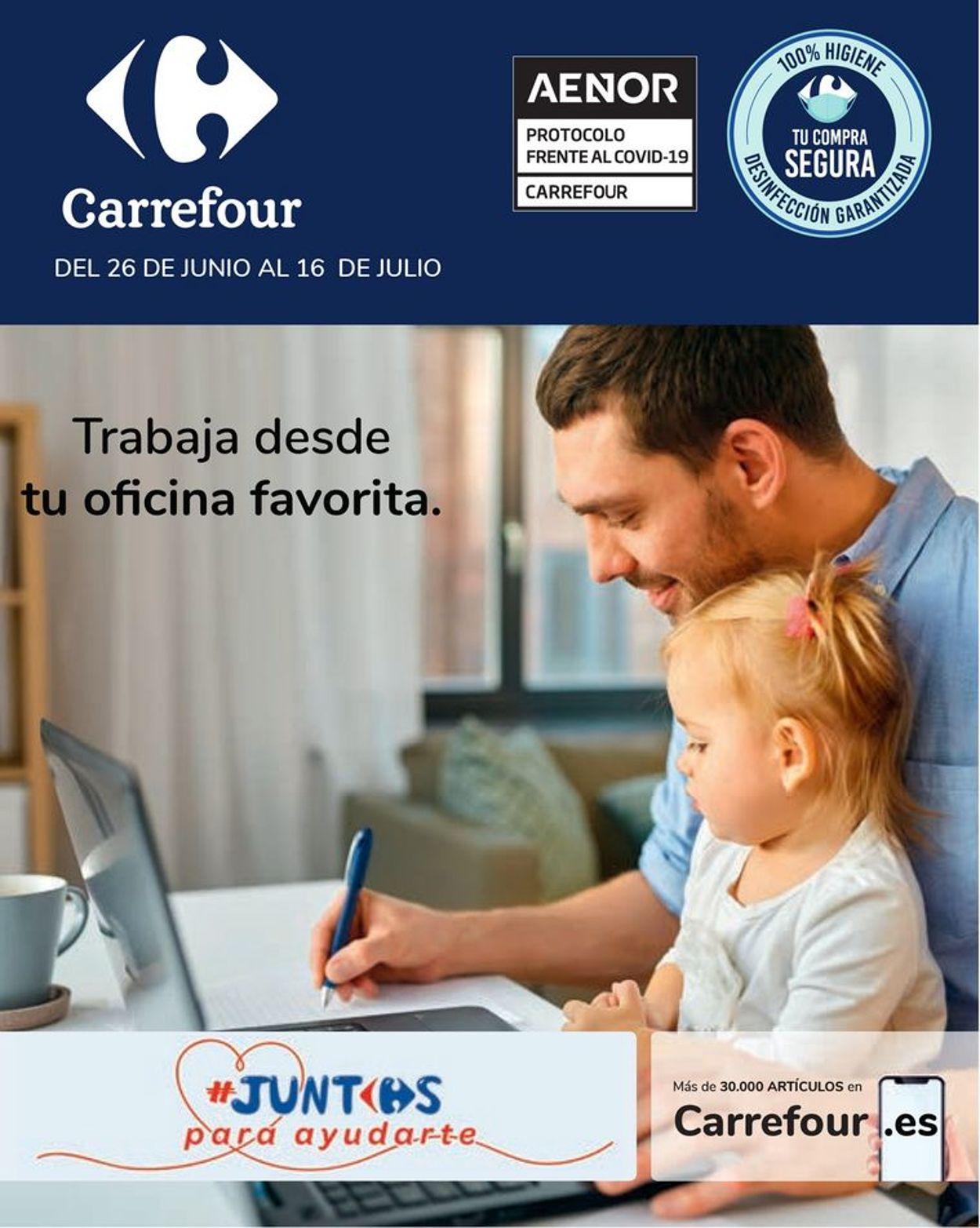Carrefour Folleto - 26.06-16.07.2020