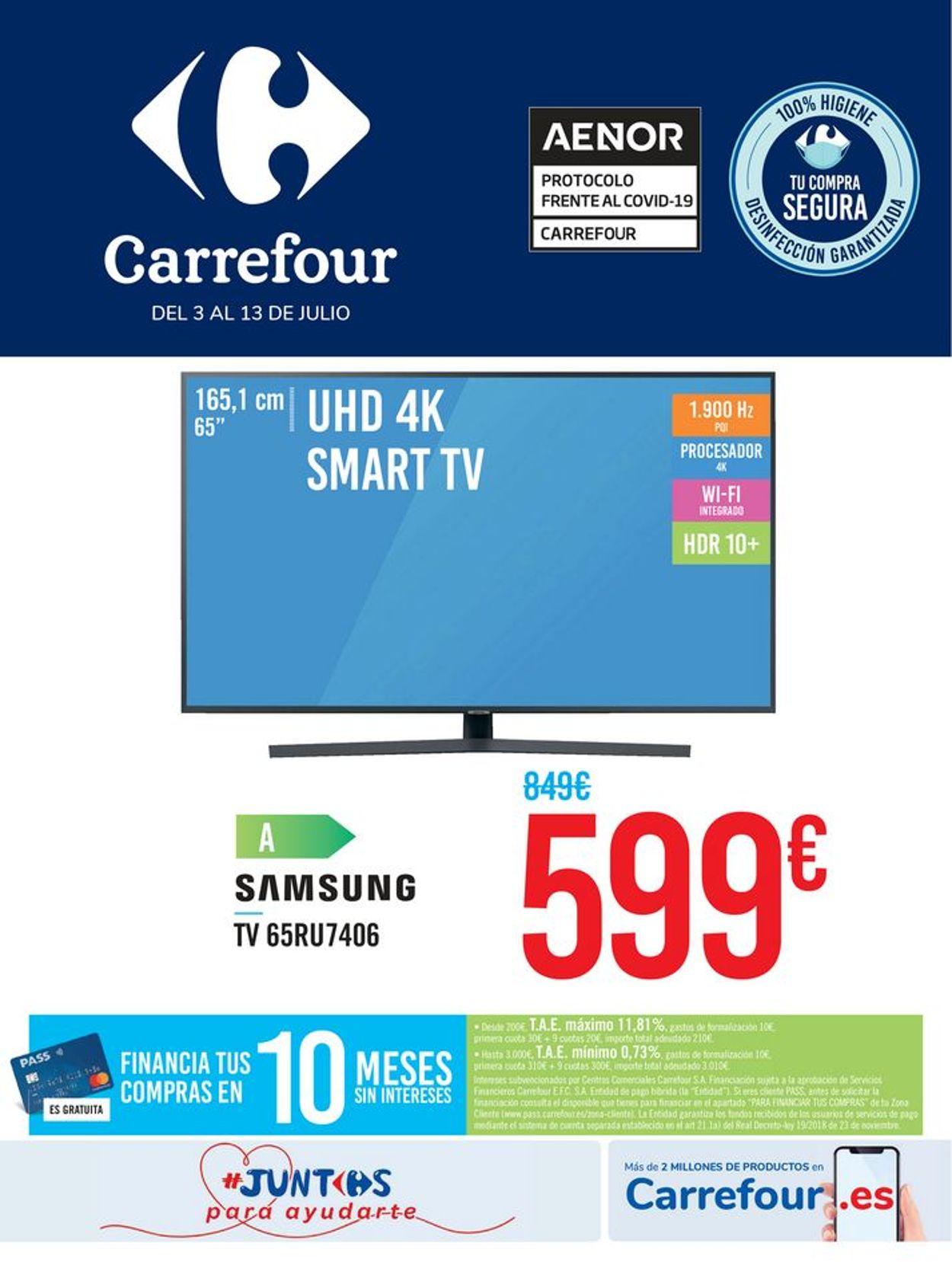 Carrefour Folleto - 03.07-13.07.2020