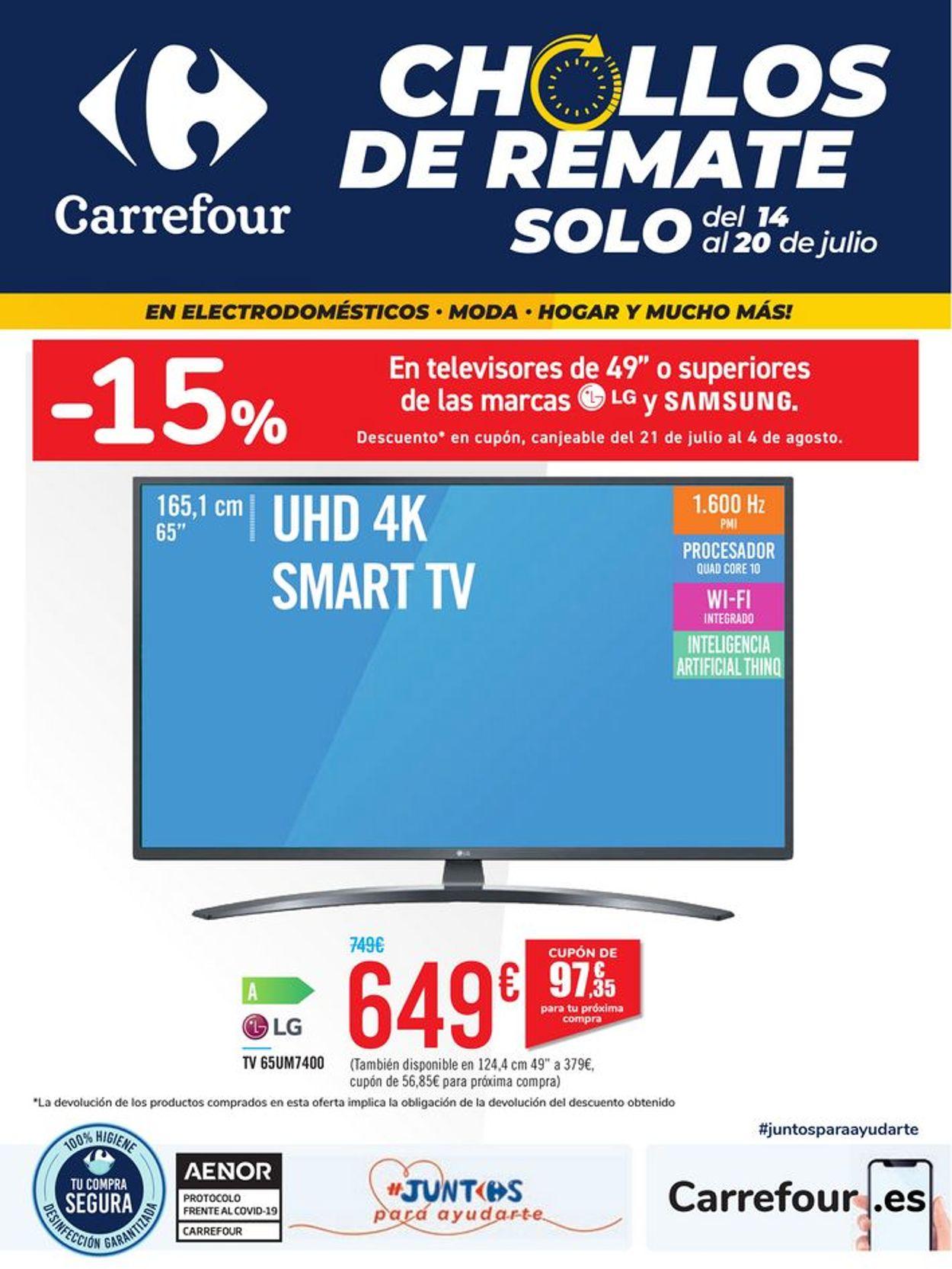 Carrefour Folleto - 14.07-20.07.2020