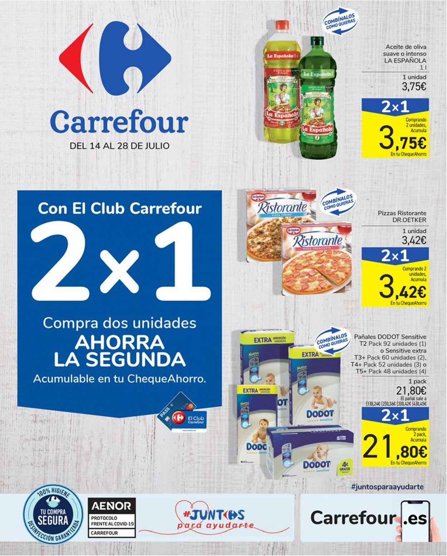 Carrefour Folleto - 14.07-28.07.2020