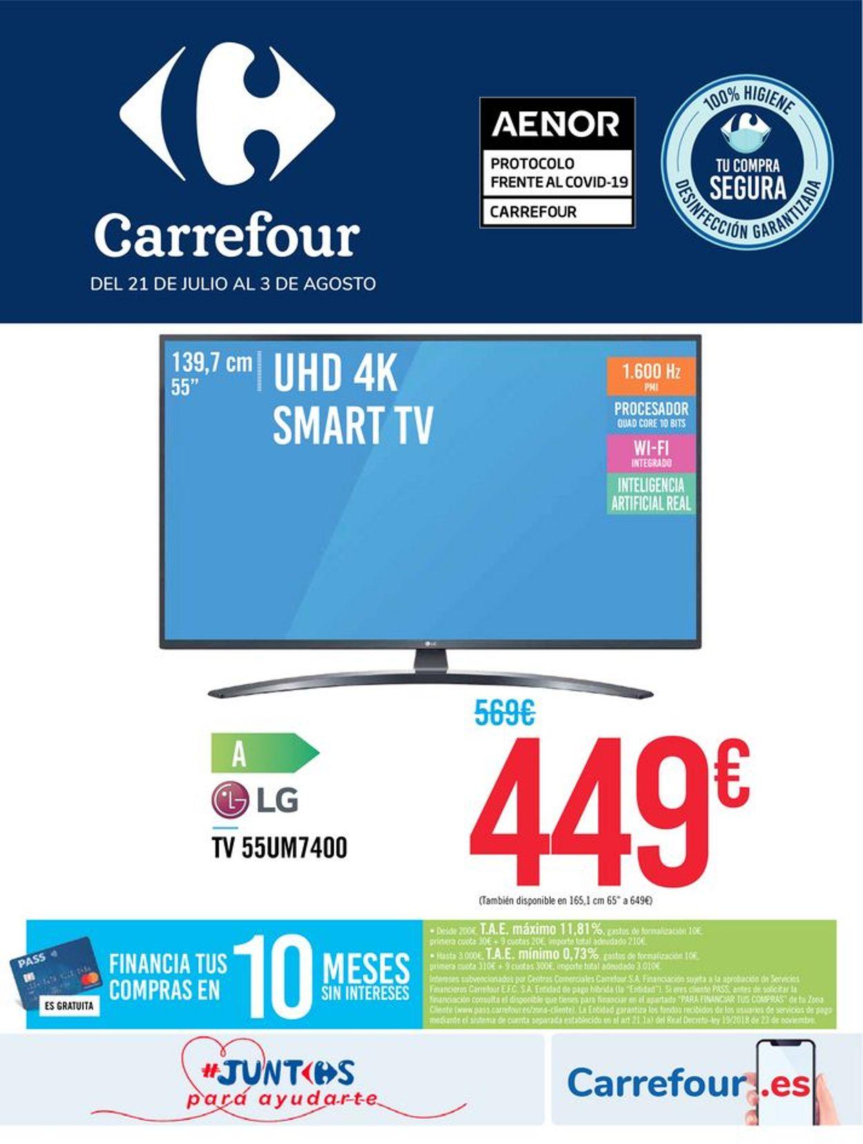 Carrefour Folleto - 21.07-03.08.2020