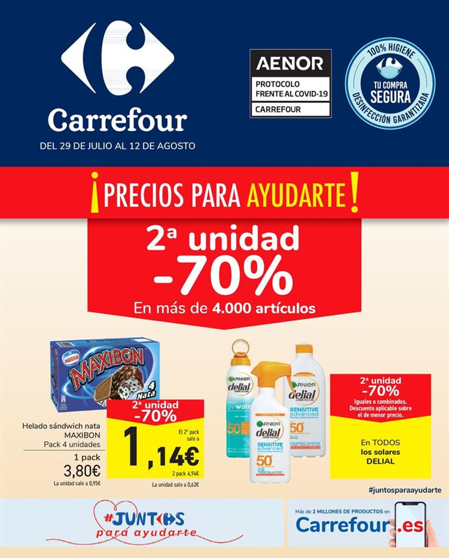 Carrefour Folleto - 29.07-12.08.2020