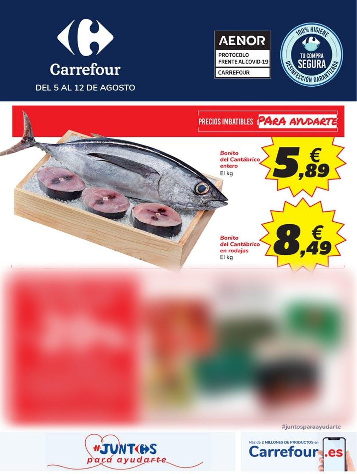 Carrefour Folleto - 05.08-12.08.2020
