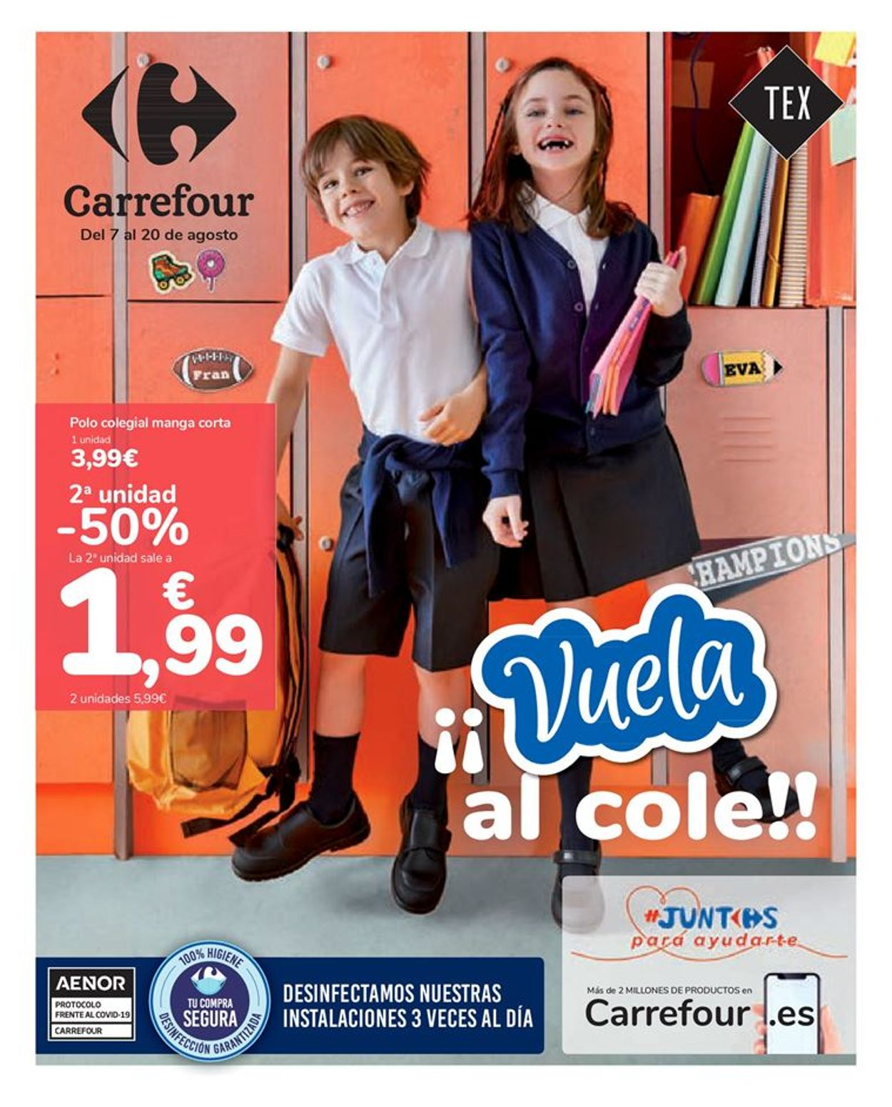 Carrefour Folleto - 07.08-20.08.2020