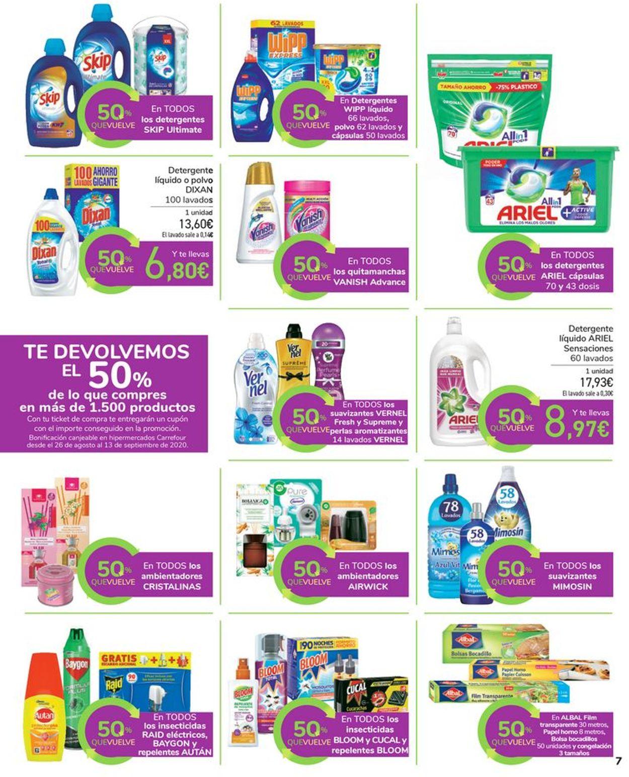 Carrefour Folleto - 13.08-25.08.2020 (Página 7)