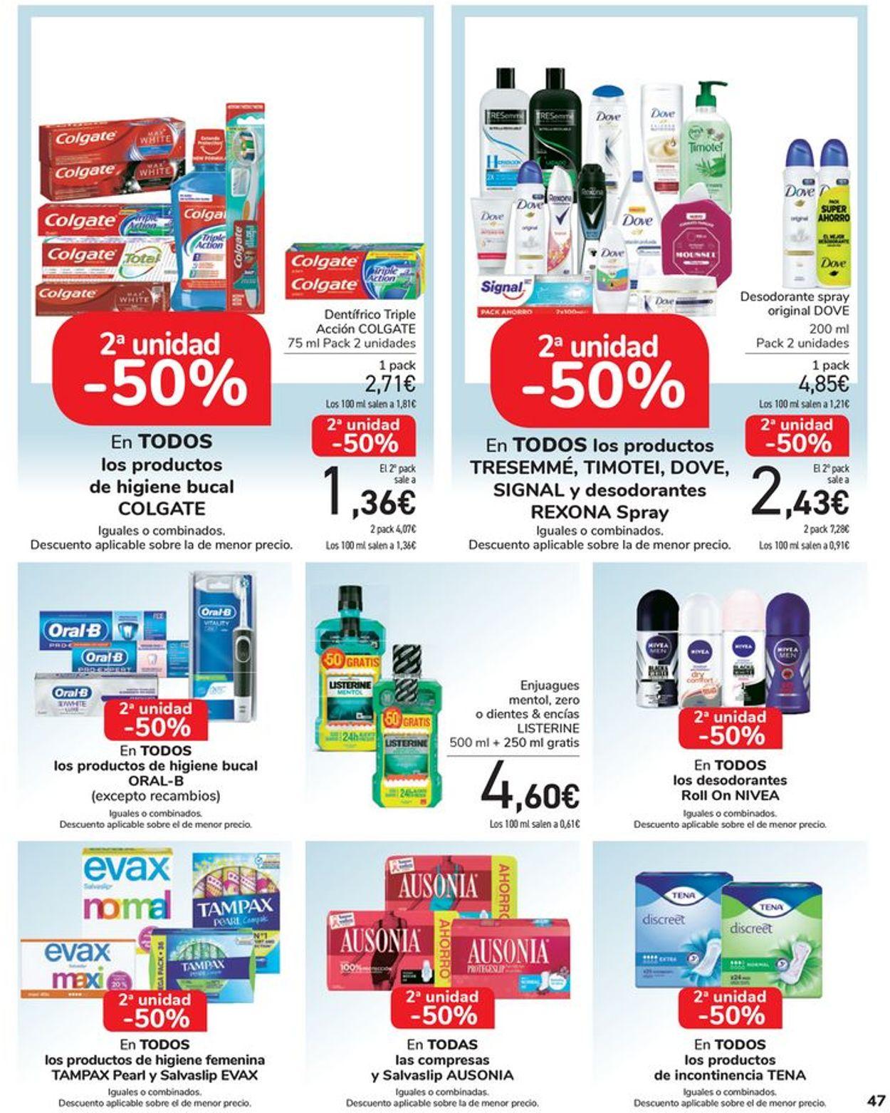 Carrefour Folleto - 13.08-25.08.2020 (Página 47)