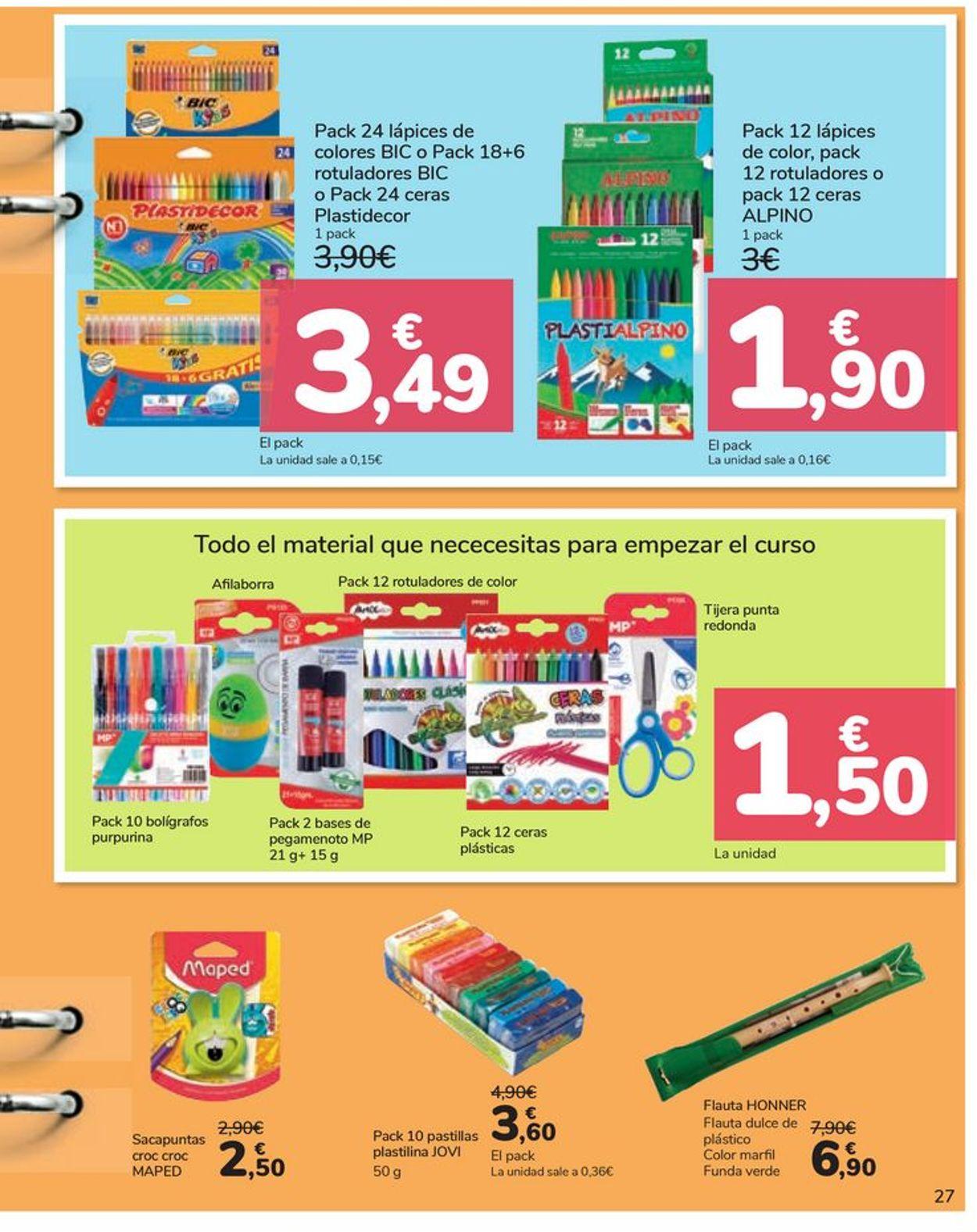 Carrefour Folleto - 21.08-21.09.2020 (Página 27)
