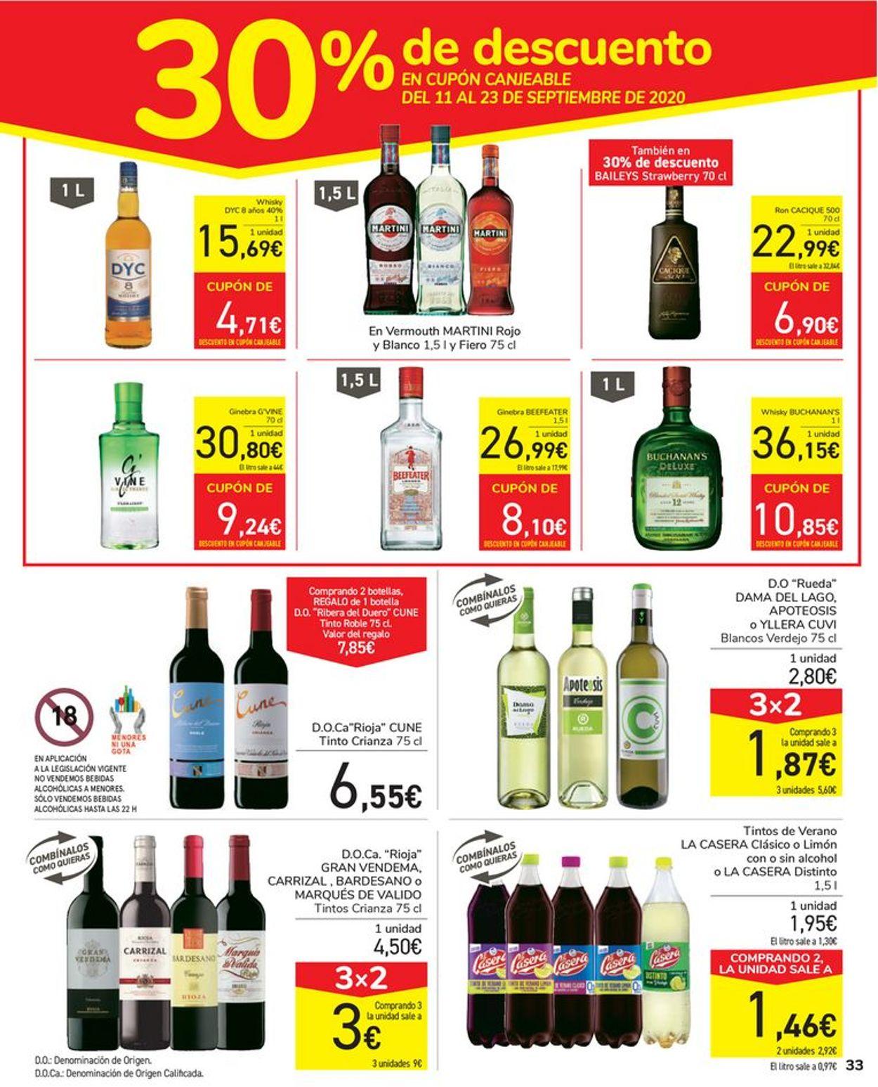 Carrefour Folleto - 26.08-10.09.2020 (Página 33)