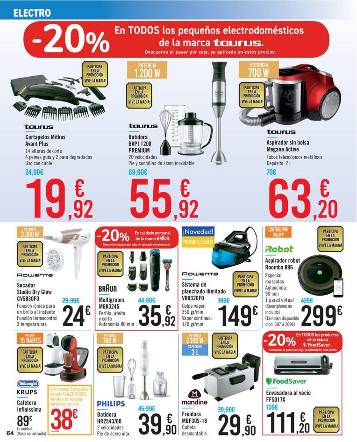 Carrefour Folleto - 26.08-10.09.2020 (Página 64)