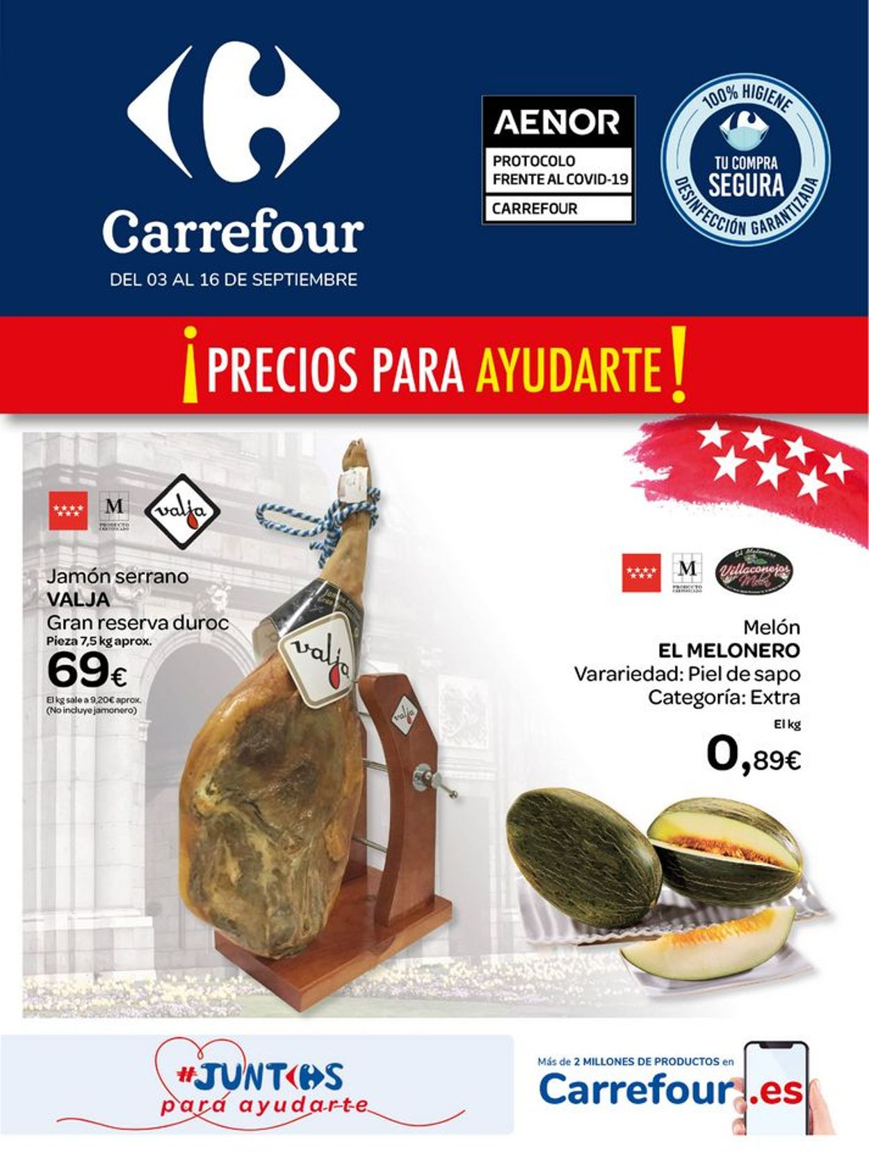 Carrefour Folleto - 03.09-16.09.2020