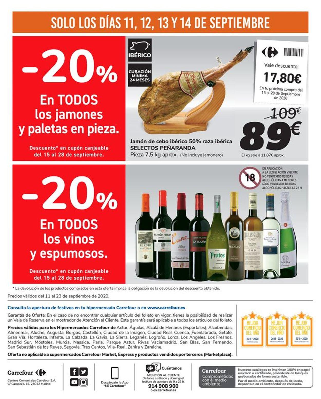 Carrefour Folleto - 11.09-23.09.2020 (Página 72)