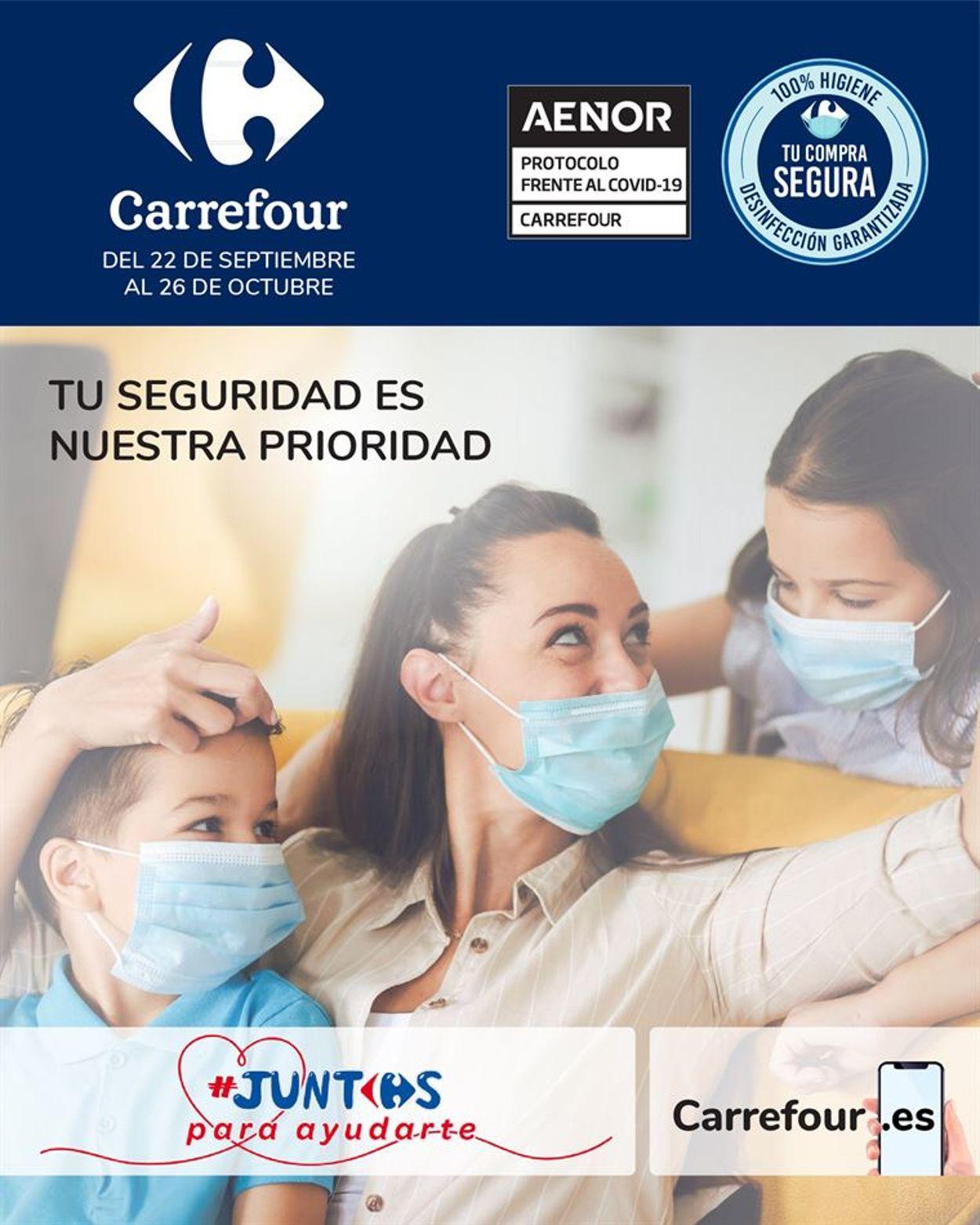 Carrefour Folleto - 22.09-26.10.2020