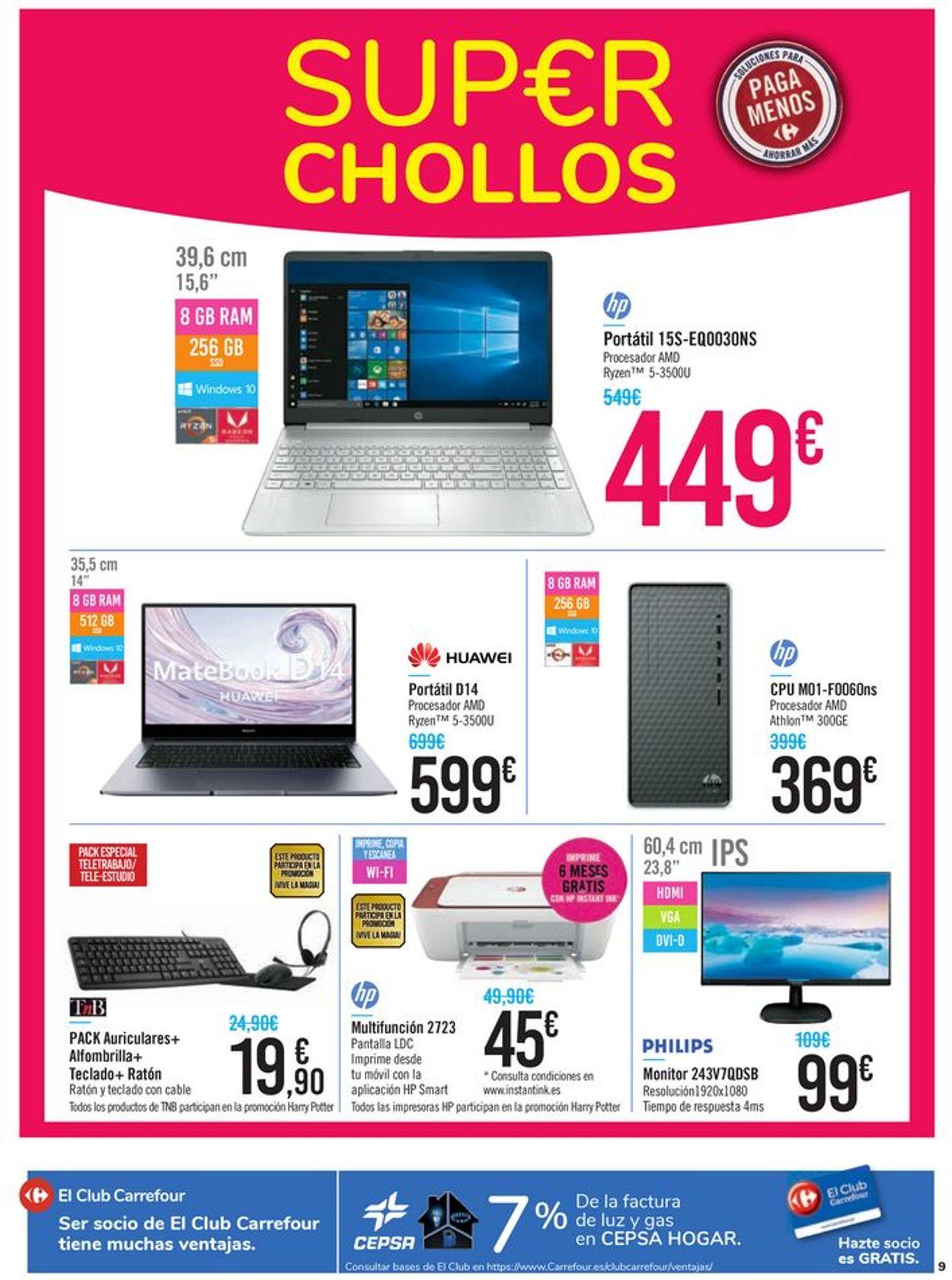 Carrefour Folleto - 22.09-13.10.2020 (Página 9)