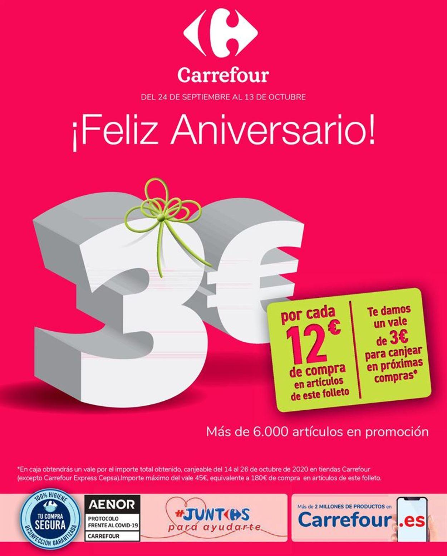Carrefour Folleto - 24.09-13.10.2020