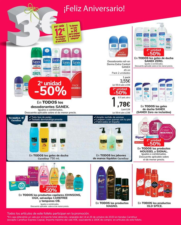 Carrefour Folleto - 24.09-13.10.2020 (Página 60)