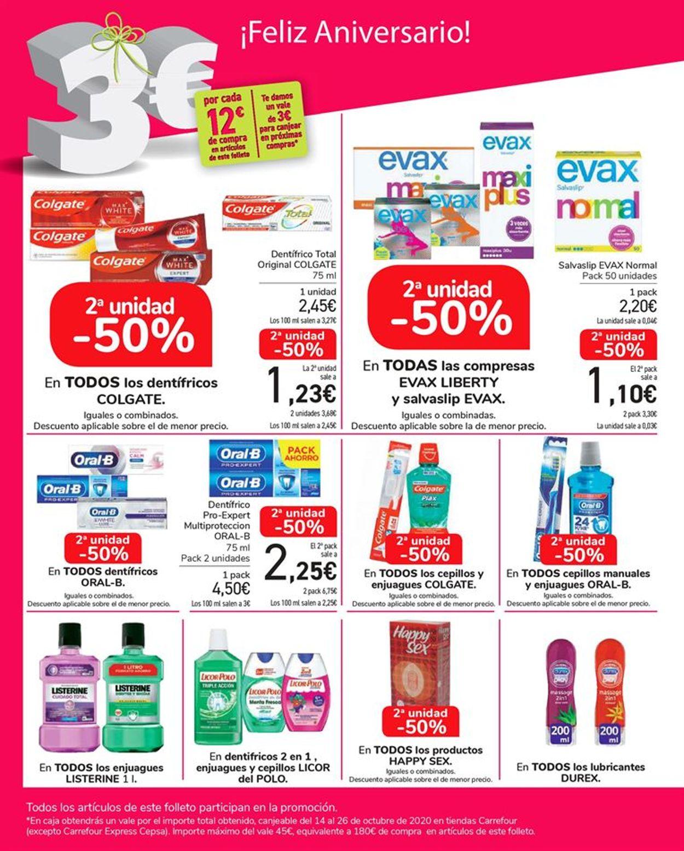 Carrefour Folleto - 24.09-13.10.2020 (Página 62)