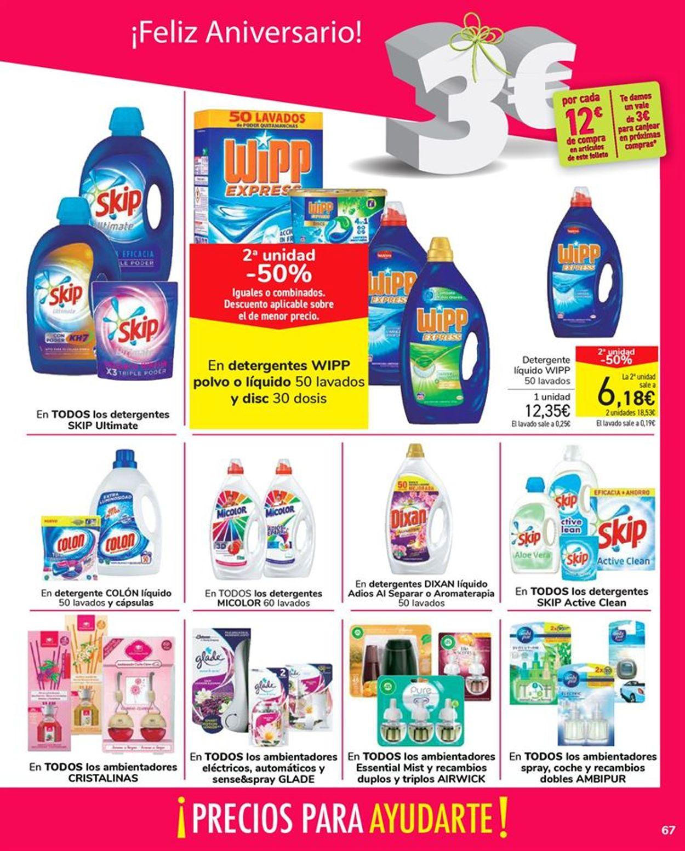 Carrefour Folleto - 24.09-13.10.2020 (Página 67)