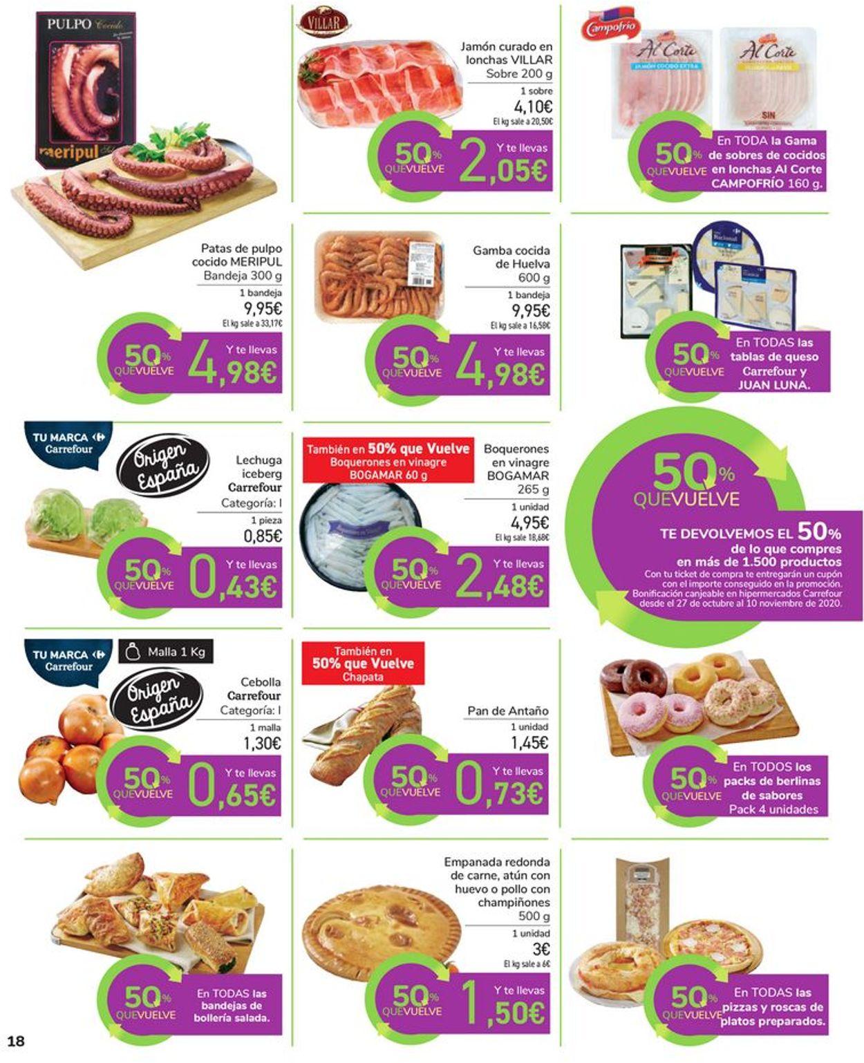 Carrefour Folleto - 14.10-26.10.2020 (Página 18)