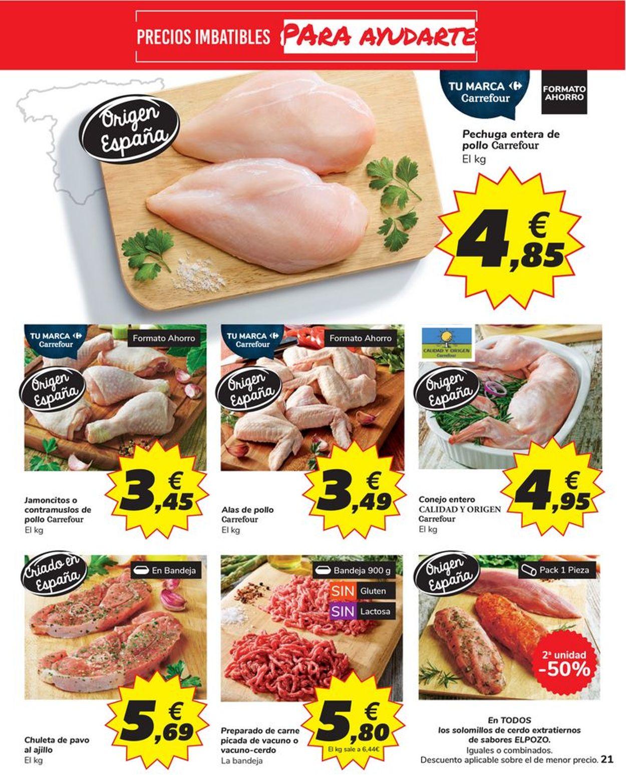 Carrefour Folleto - 14.10-26.10.2020 (Página 21)