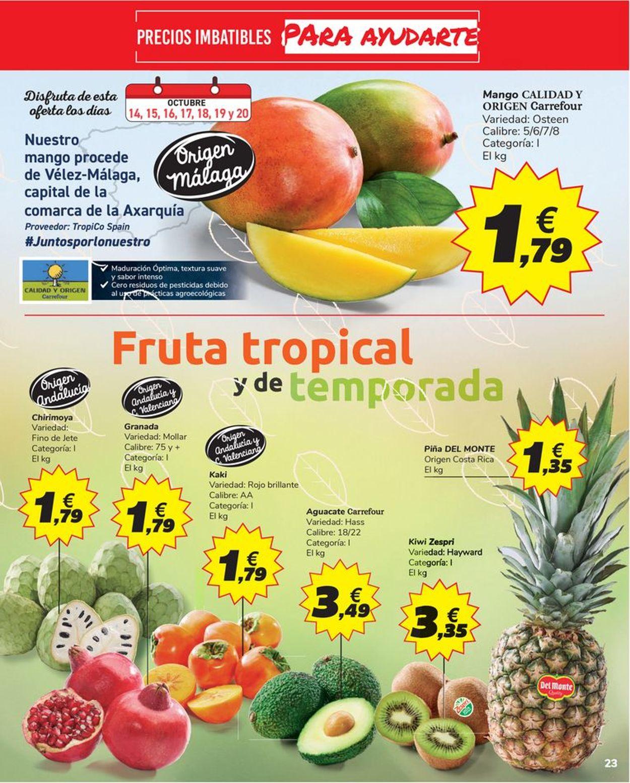 Carrefour Folleto - 14.10-26.10.2020 (Página 23)
