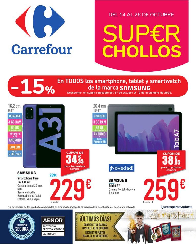 Carrefour Folleto - 14.10-26.10.2020