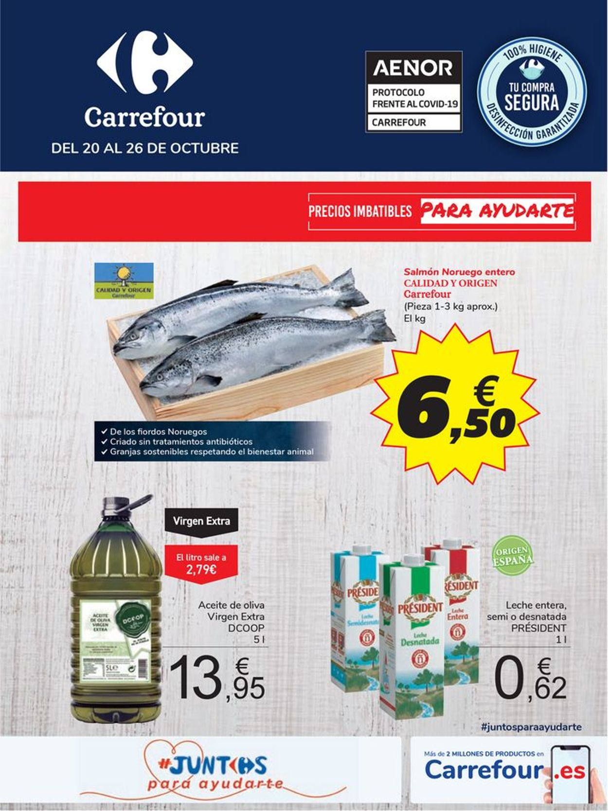 Carrefour Folleto - 20.10-26.10.2020