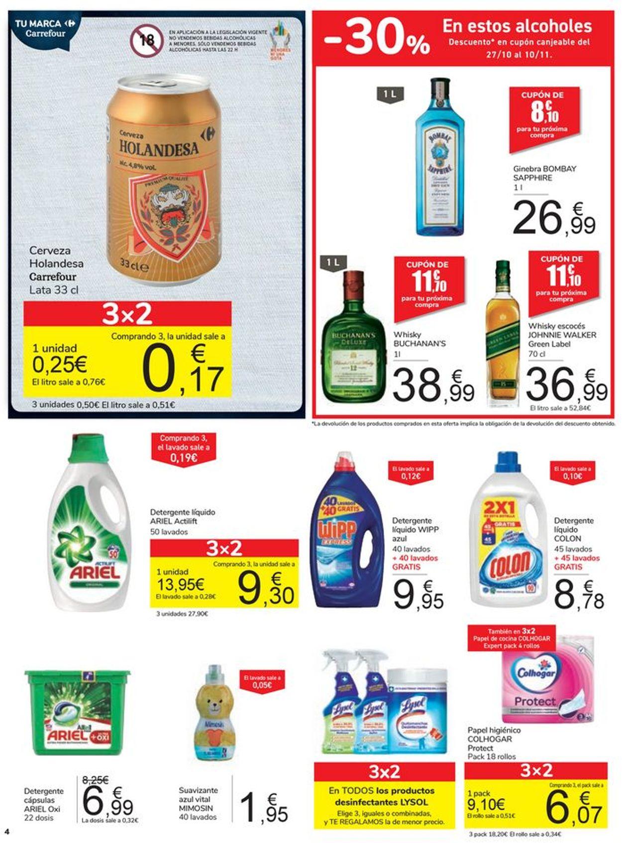 Carrefour Folleto - 20.10-26.10.2020 (Página 4)