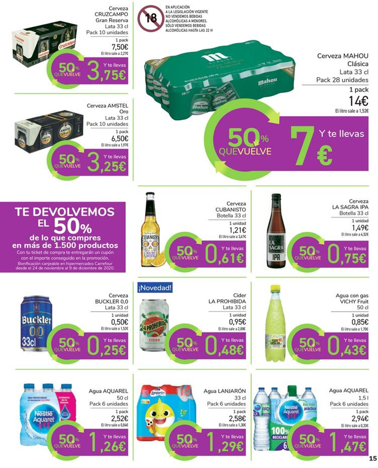 Carrefour Folleto - 11.11-23.11.2020 (Página 15)