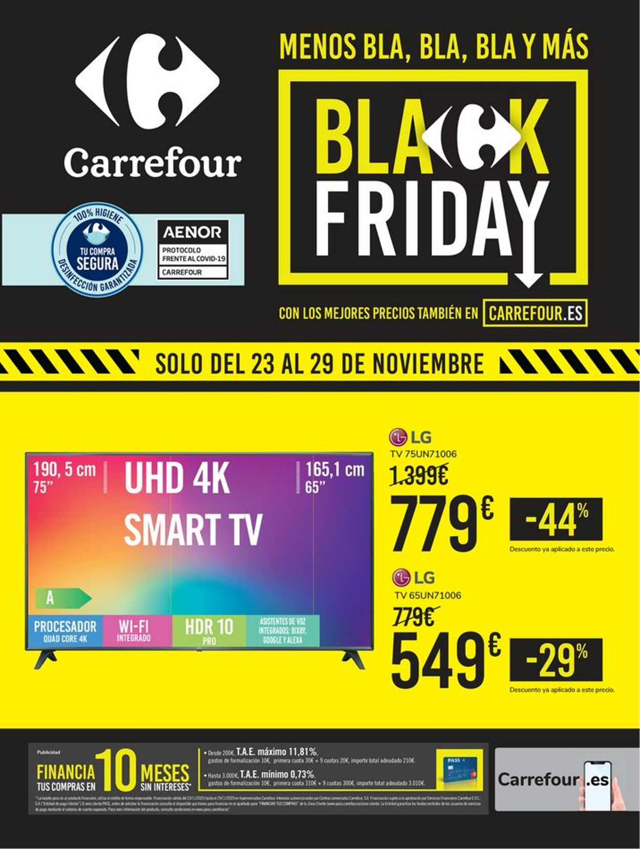 Carrefour Black Friday 2020 Folleto - 23.11-29.11.2020