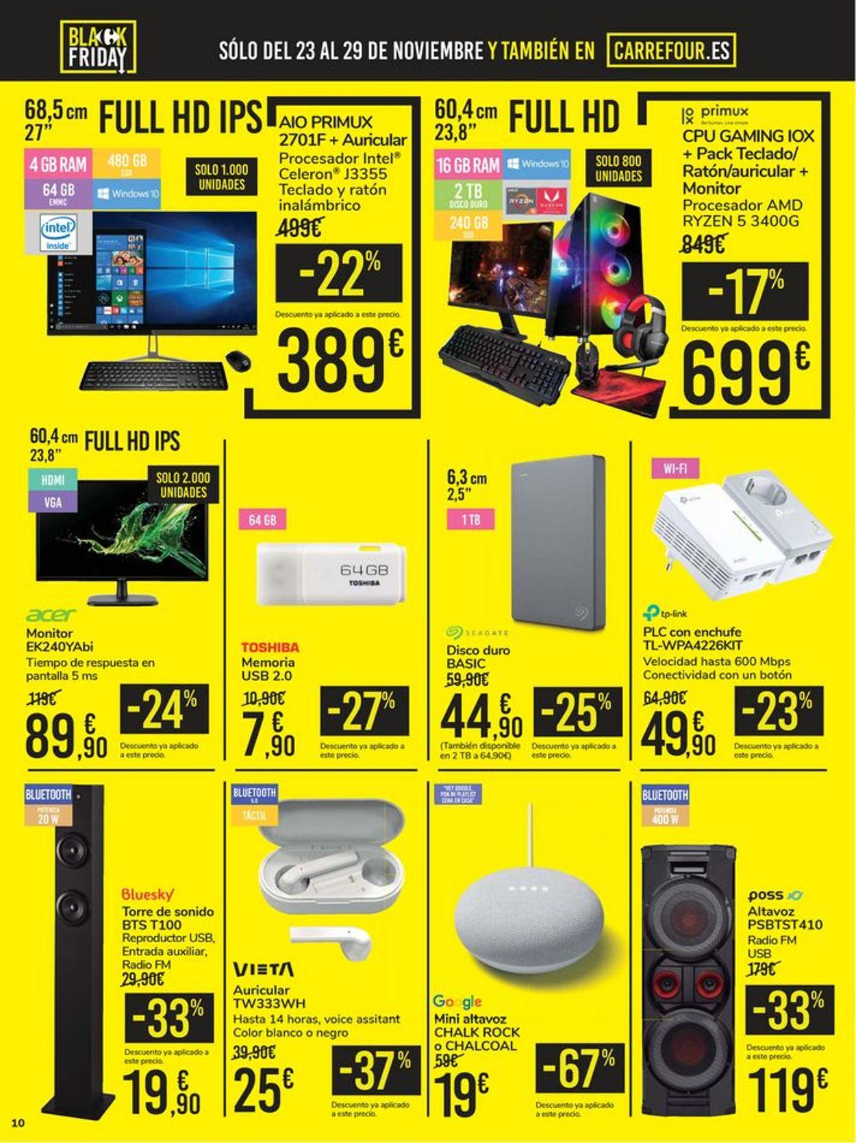 Carrefour Black Friday 2020 Folleto - 23.11-29.11.2020 (Página 10)