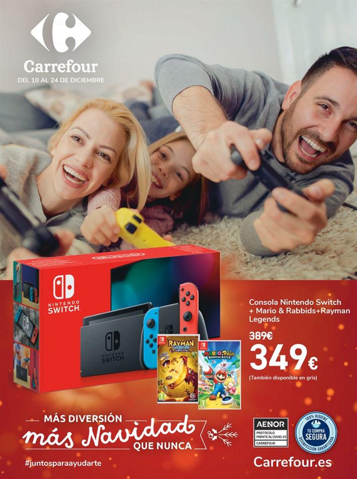 Carrefour Folleto - 10.12-24.12.2020