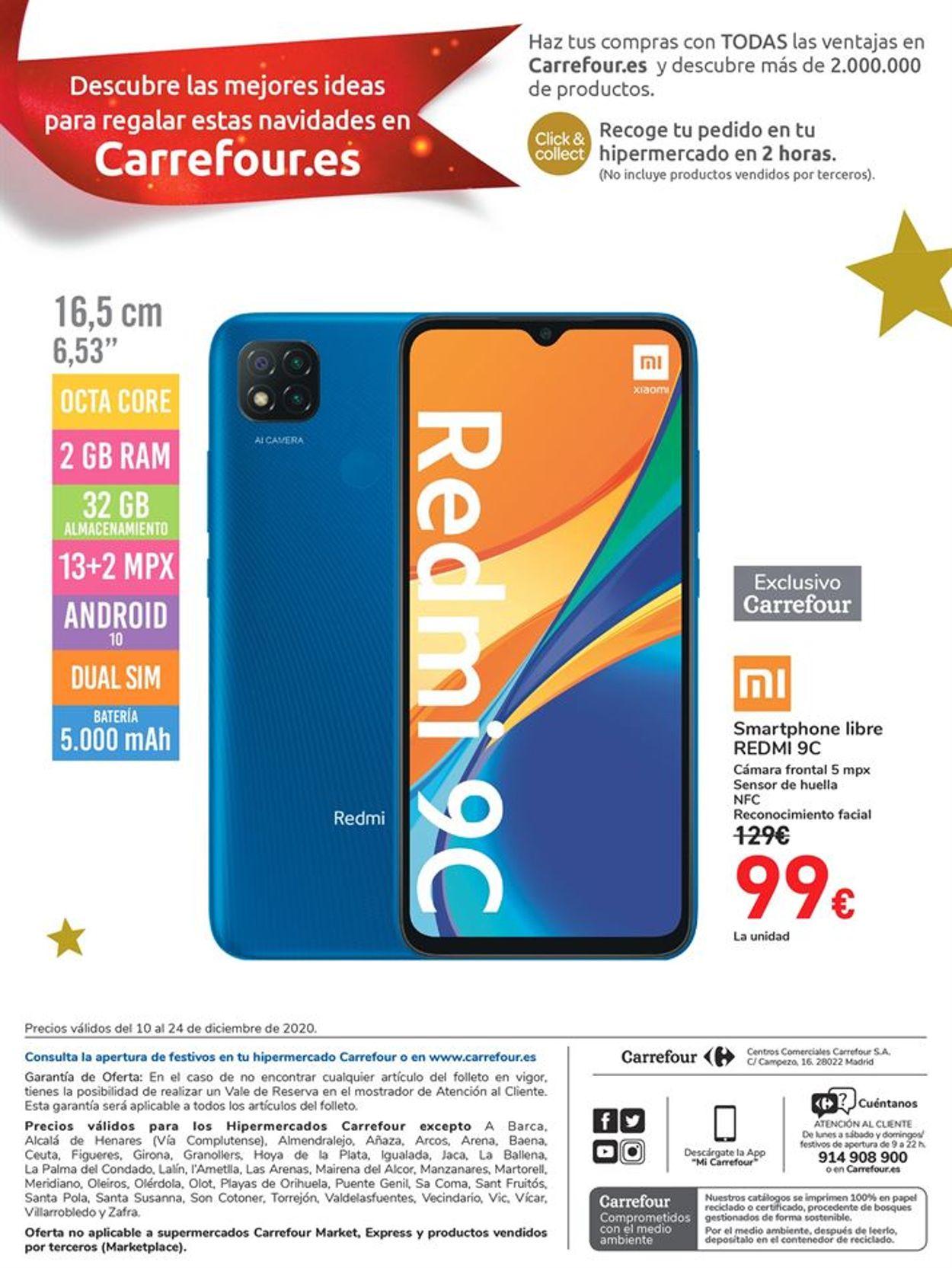 Carrefour Folleto - 10.12-24.12.2020 (Página 24)