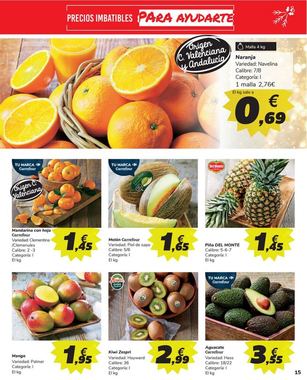 Carrefour Más Navidad 2020 Folleto - 15.12-31.12.2020 (Página 15)