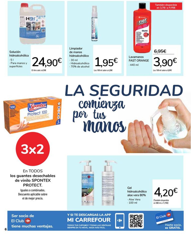 Carrefour Tu Seguridad Es Nuestra Prioridad 2021 Folleto - 07.01-02.02.2021 (Página 6)