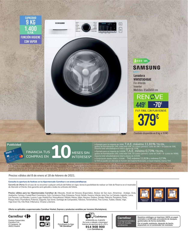 Carrefour Disfruta tu Hogar 2021 Folleto - 08.01-18.02.2021 (Página 40)