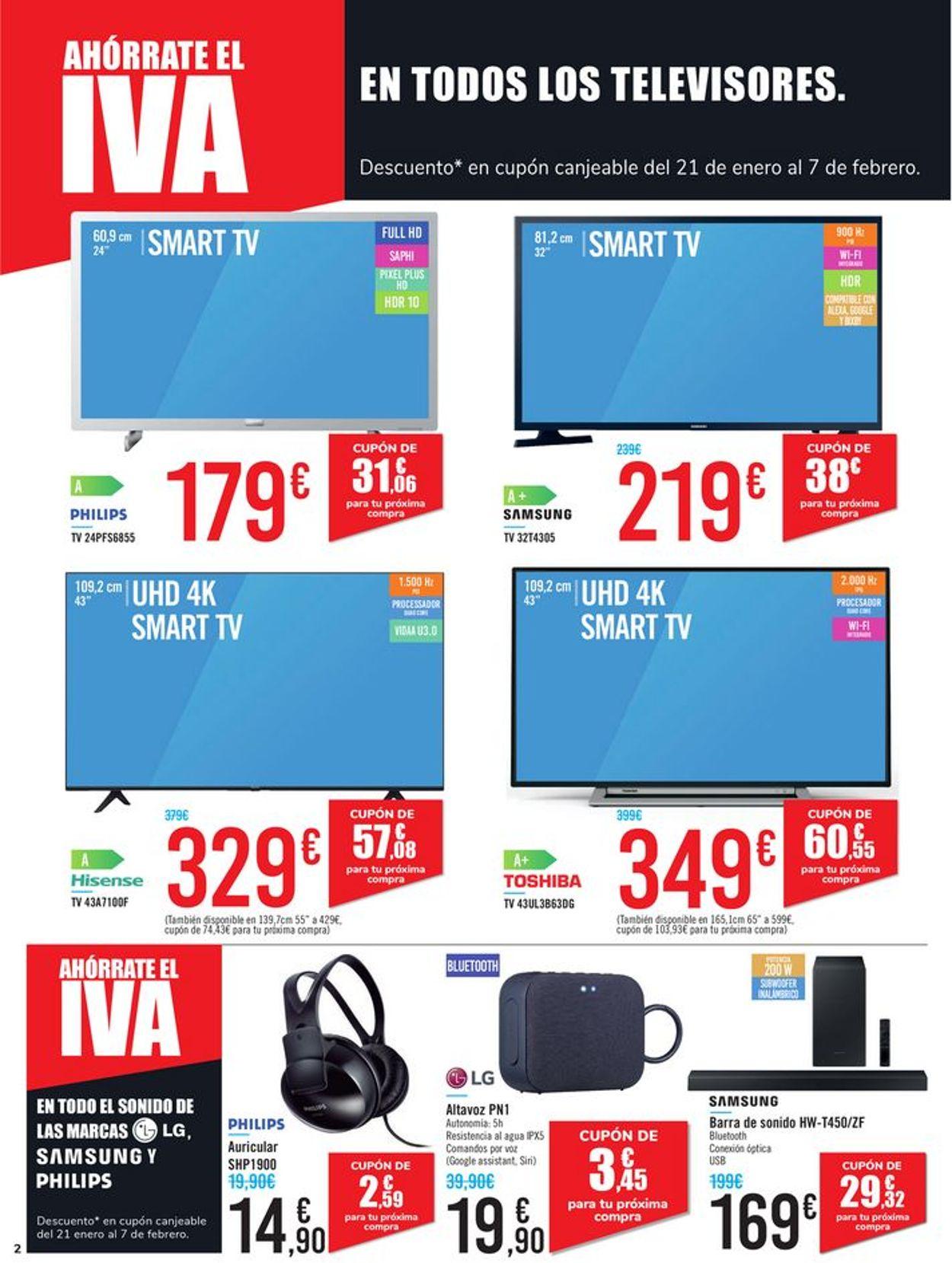 Carrefour Ahórrate el IVA 2021 Folleto - 08.01-20.01.2021 (Página 2)