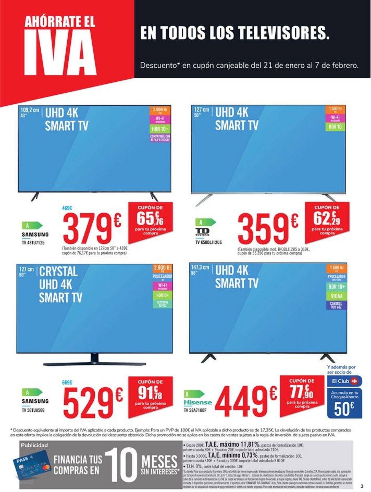 Carrefour Ahórrate el IVA 2021 Folleto - 08.01-20.01.2021 (Página 3)