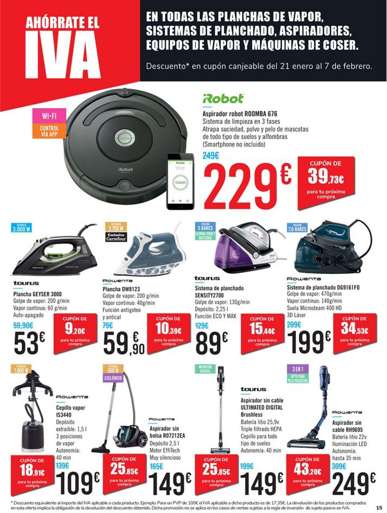 Carrefour Ahórrate el IVA 2021 Folleto - 08.01-20.01.2021 (Página 15)