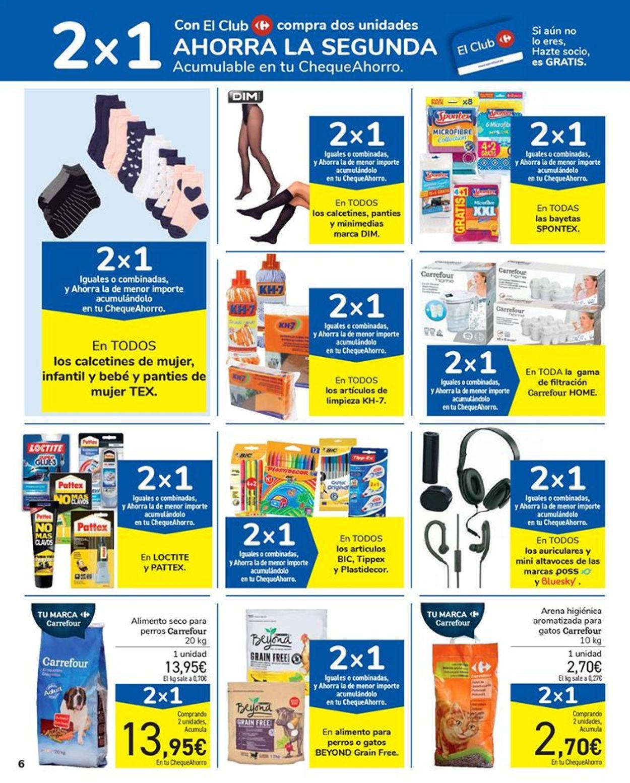 Carrefour 2x1 2021 Folleto - 15.01-27.01.2021 (Página 6)