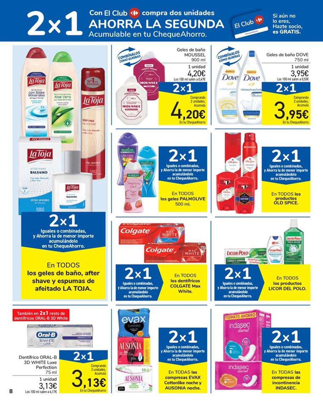 Carrefour 2x1 2021 Folleto - 15.01-27.01.2021 (Página 8)