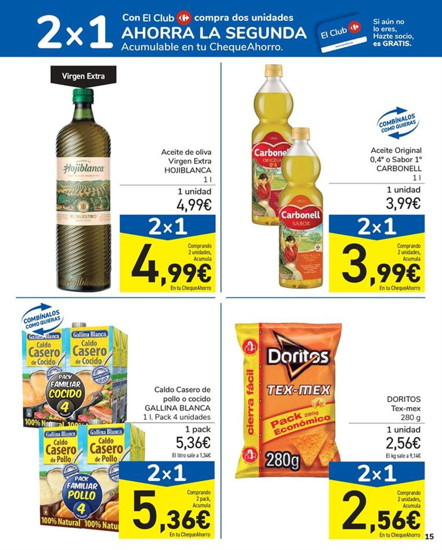 Carrefour 2x1 2021 Folleto - 15.01-27.01.2021 (Página 15)