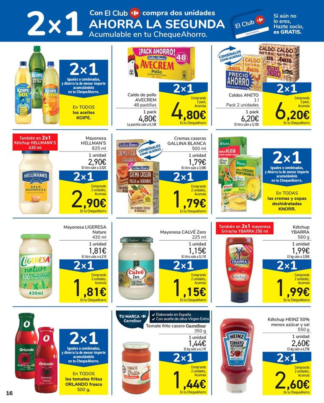 Carrefour 2x1 2021 Folleto - 15.01-27.01.2021 (Página 16)