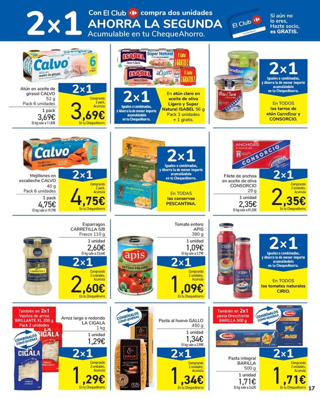 Carrefour 2x1 2021 Folleto - 15.01-27.01.2021 (Página 17)