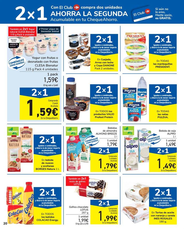 Carrefour 2x1 2021 Folleto - 15.01-27.01.2021 (Página 20)