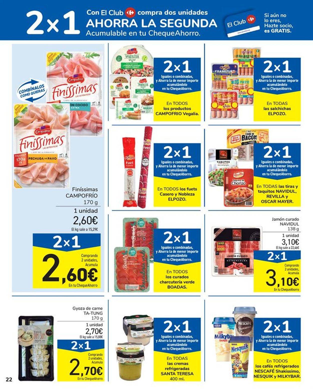 Carrefour 2x1 2021 Folleto - 15.01-27.01.2021 (Página 22)